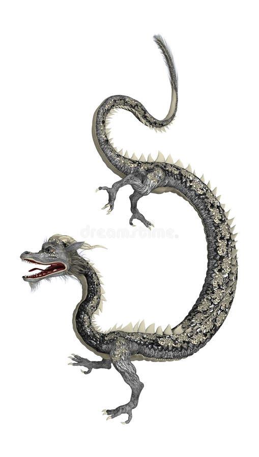 wschodni smok ilustracji