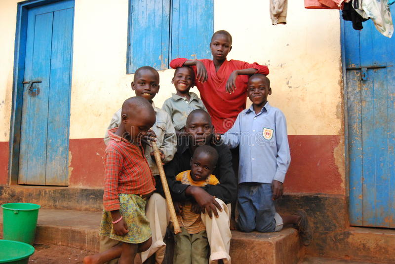 wschodni Uganda zdjęcia royalty free