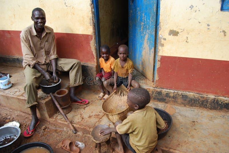 wschodni Uganda obrazy royalty free