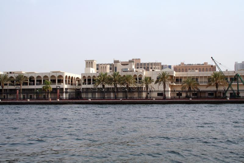 Wschodnia architektura, panorama z widokiem budynków fotografia stock