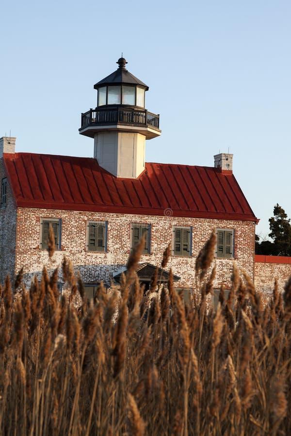 Wschodnia punkt latarnia morska w Nowym - bydło zdjęcie stock