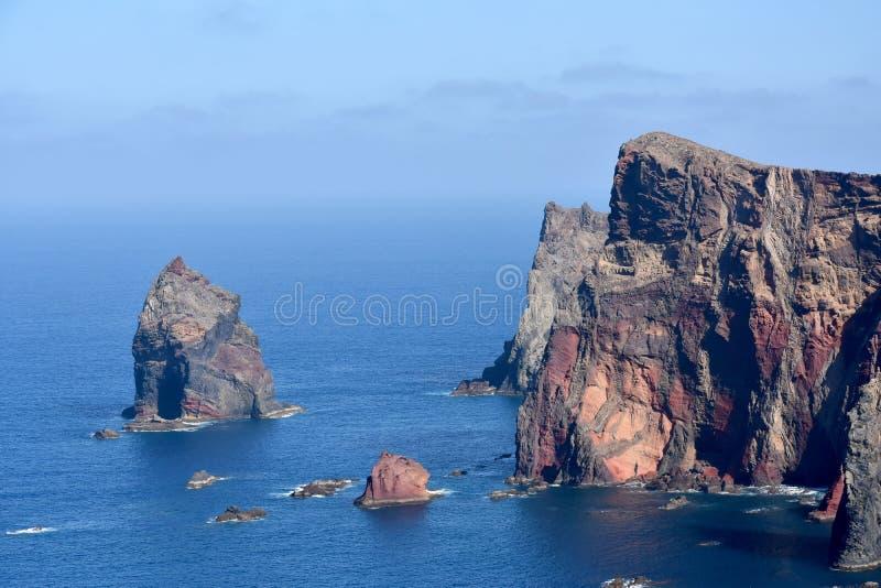 Wschodnie wybrzeże madery wyspa, Ponta De Sao Lourenzo zdjęcia royalty free