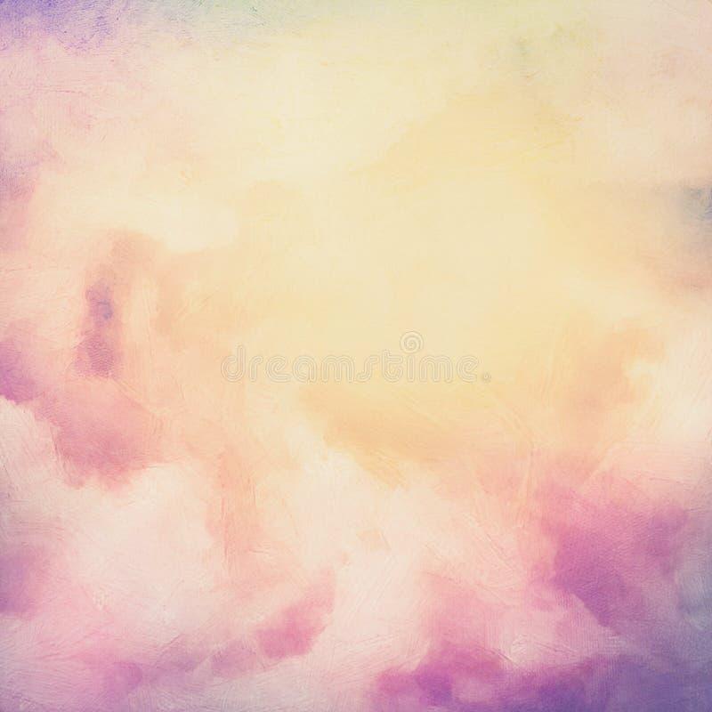 Wschodu słońca nieba obrazu tło royalty ilustracja