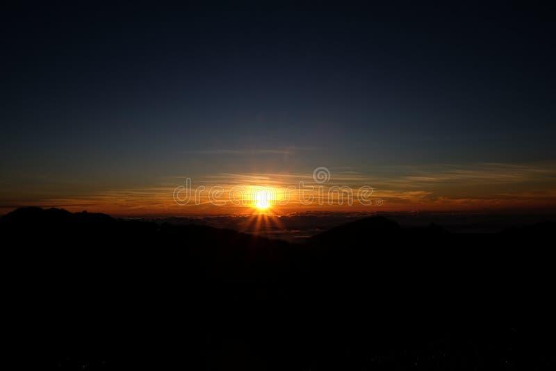 Wschodu słońca widok od Tajlandia fotografia royalty free