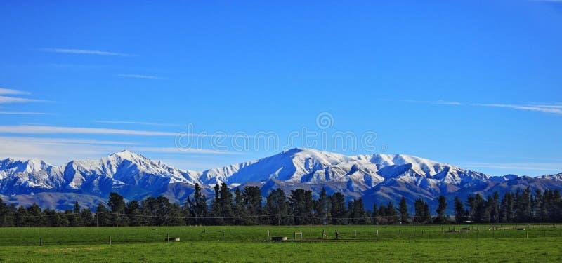 Wsi w Ashburton Christchurch w Nowej Zelandii fotografia royalty free