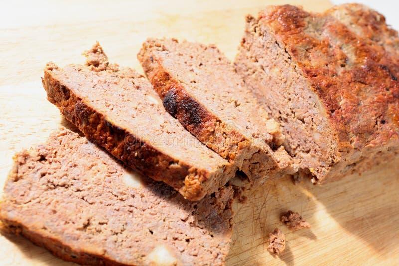 wsiada meatloaf fotografia stock