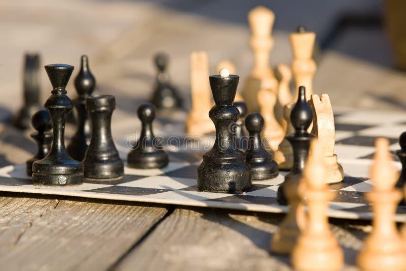 wsiada szachy fotografia stock