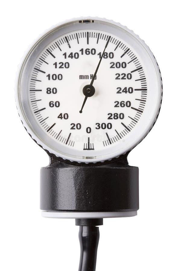 wskaźnik ciśnienia obraz stock