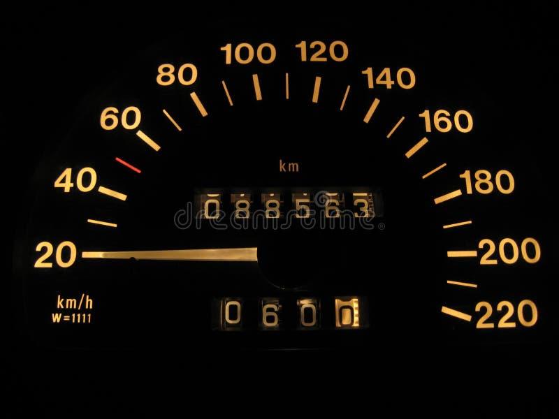 wskaźnik prędkości zdjęcia royalty free