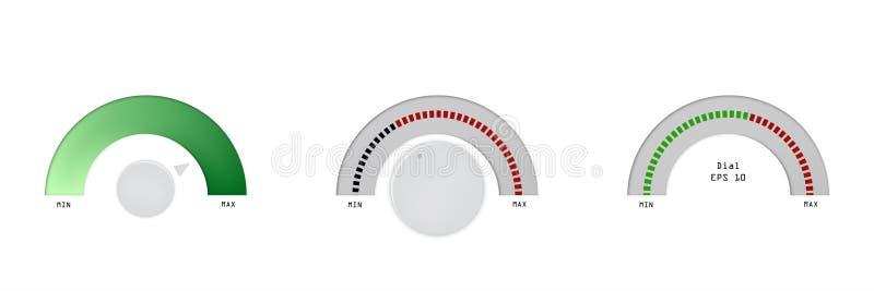 Wskaźnik, skala, wskaźnik, ustawia wektorową miarę ilustracyjnego metru pozioma projekta ilustracji