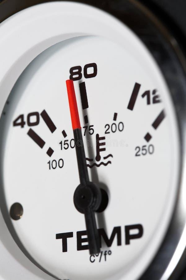 wskaźnik temperatury zdjęcia stock