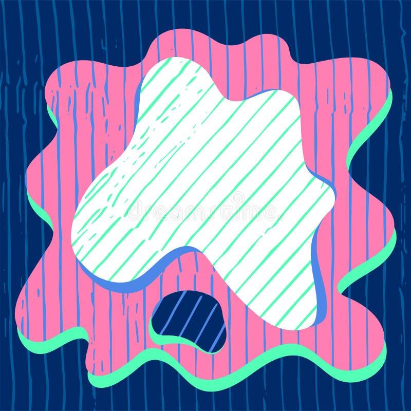Współczesnego crypt app mobilne tekstury dla blockchain biznesowego ilustracyjnego tła ilustracja wektor