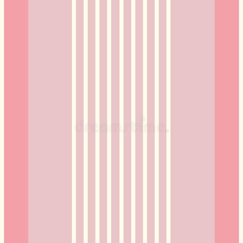 Współczesnego multiwidth shirting lampasy Bezszwowy pionowo wektoru wzór Doskonalić dla materiały, tkaniny, pościel royalty ilustracja