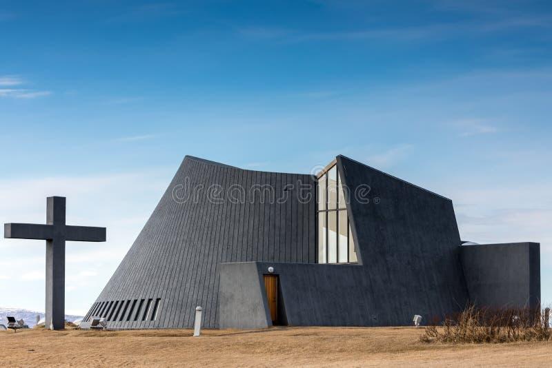 współczesny kościół obraz royalty free