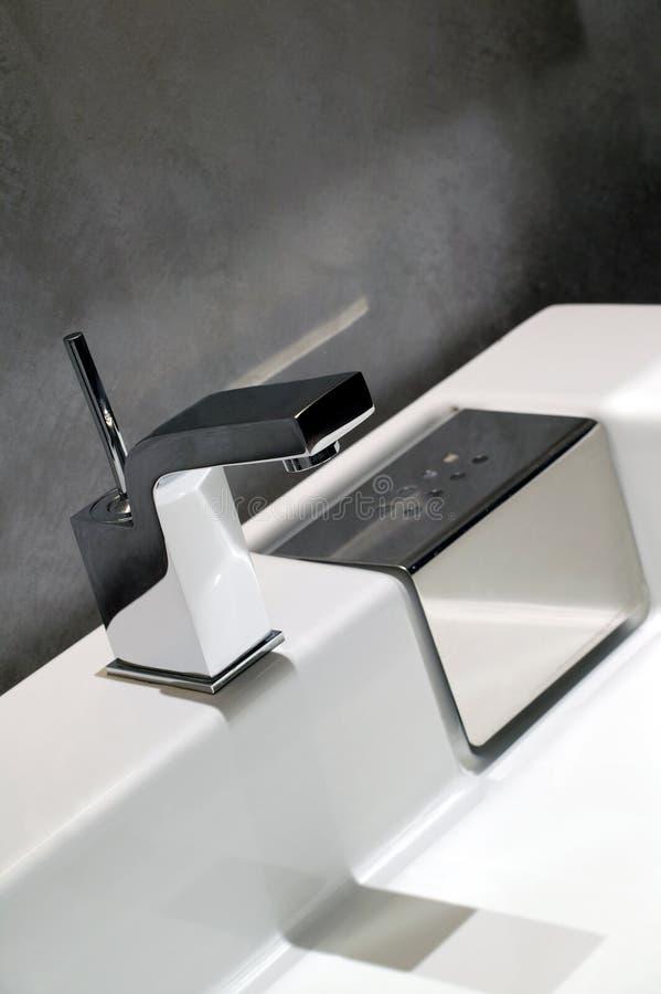 współczesny pat łazienki obraz stock