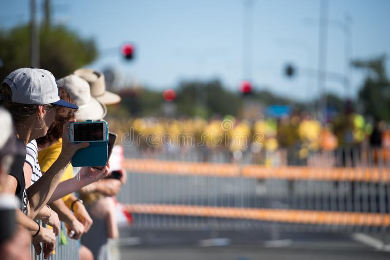 2018 wspólnot narodów gier maratonu wizerunki fotografia stock