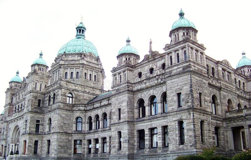 Wspaniała architektura Wiktoria parlamentu budynki obraz royalty free