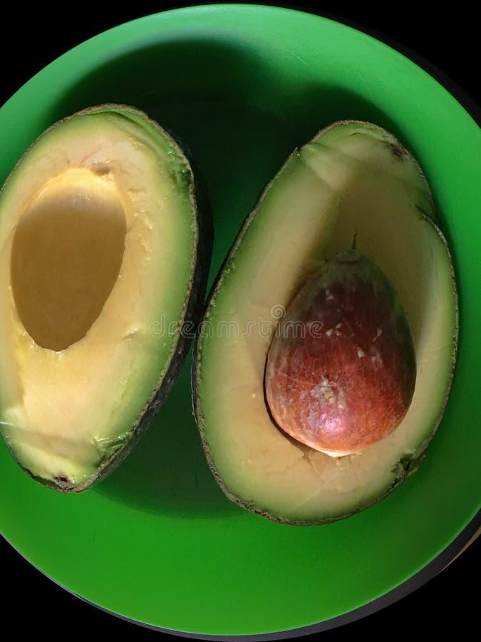Wspaniała, chwalebnie avocado zieleń, zdjęcie stock