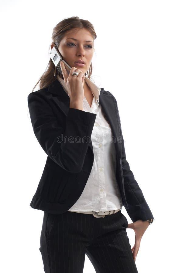 wspaniała kobieta wygląda jednostek gospodarczych zdjęcia stock