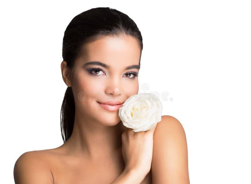 Wspaniała makeup brunetka obrazy stock