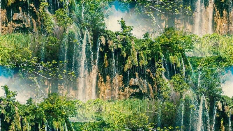 Wspaniała natura Kazachstan obraz royalty free