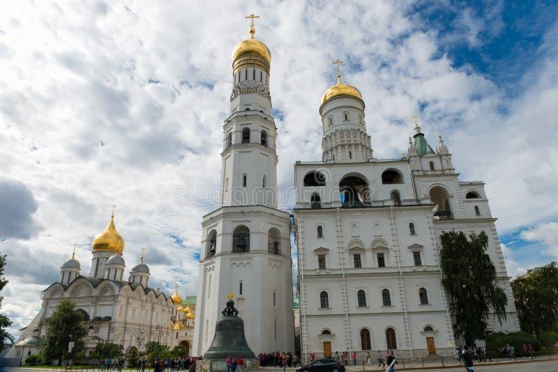 wspaniały bell Ivan wieży fotografia stock