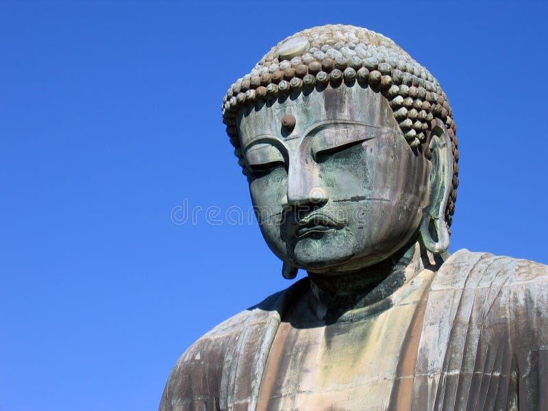 wspaniały buddy Kamakura Japan fotografia royalty free