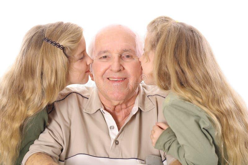 wspaniały dziadek fotografia stock