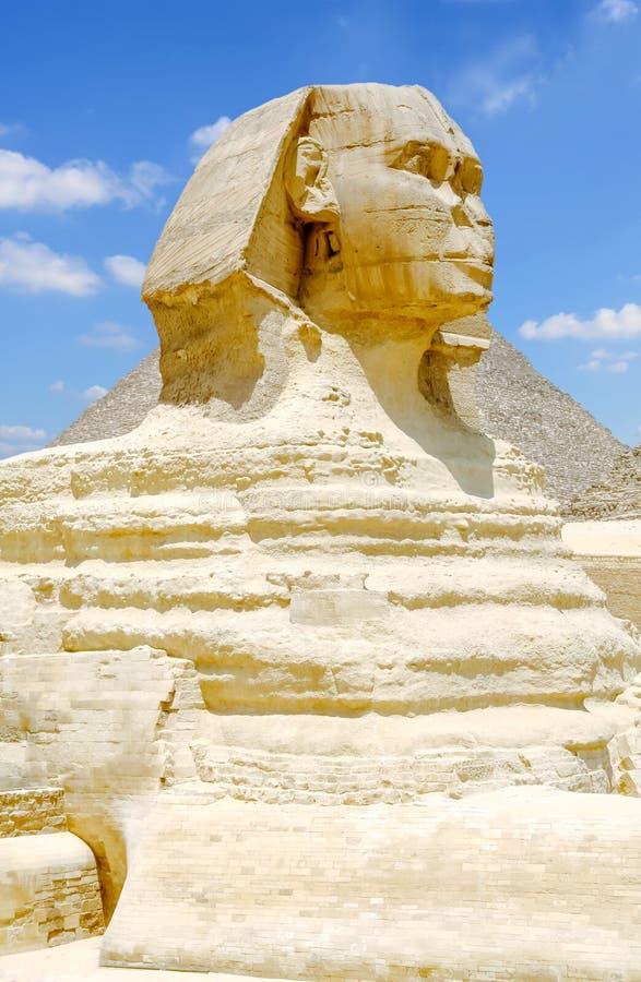 wspaniały gizy sfinks Egipt zdjęcie stock