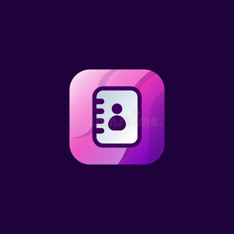 Wspaniały kontaktowy ikona projekt gotowy używać ilustracji