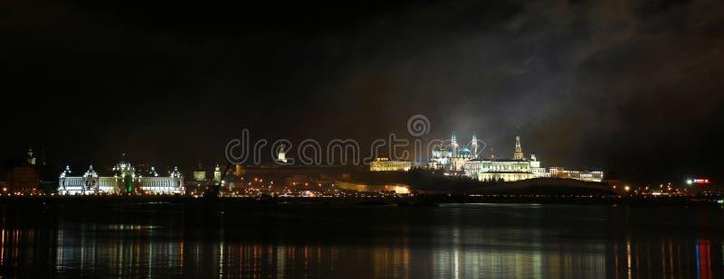 Wspaniały Kremlin Kazan zdjęcie royalty free