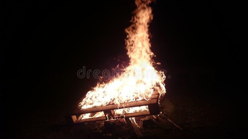 Wspaniały ogień zdjęcie stock