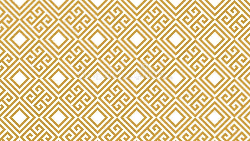 Wspaniały tło dla kwadrat kształtuję grupowy Składać się z harmoniously gniazdujący kwadraty, piękni kolory i atrakcyjny kolor, ilustracji