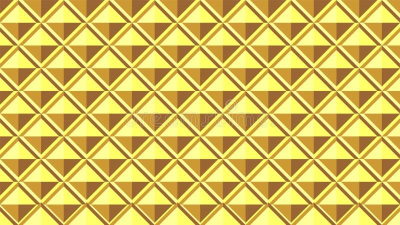 Wspaniały tło dla kwadrat kształtuję grupowy Składać się z harmoniously gniazdujący kwadraty, piękni kolory i atrakcyjny kolor, royalty ilustracja