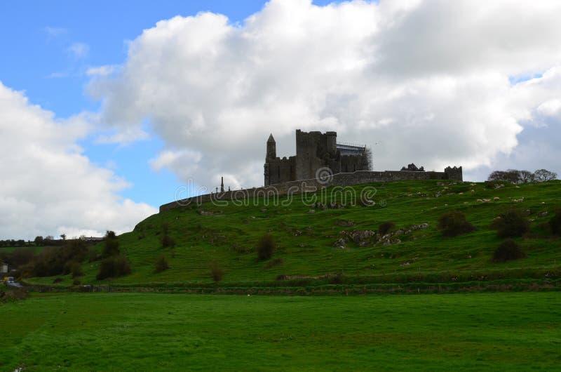 Wspaniały widok skała Cashel obraz royalty free