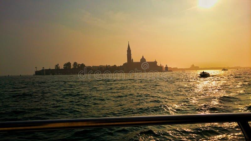 Wspaniały widok Włoski morze fotografia royalty free