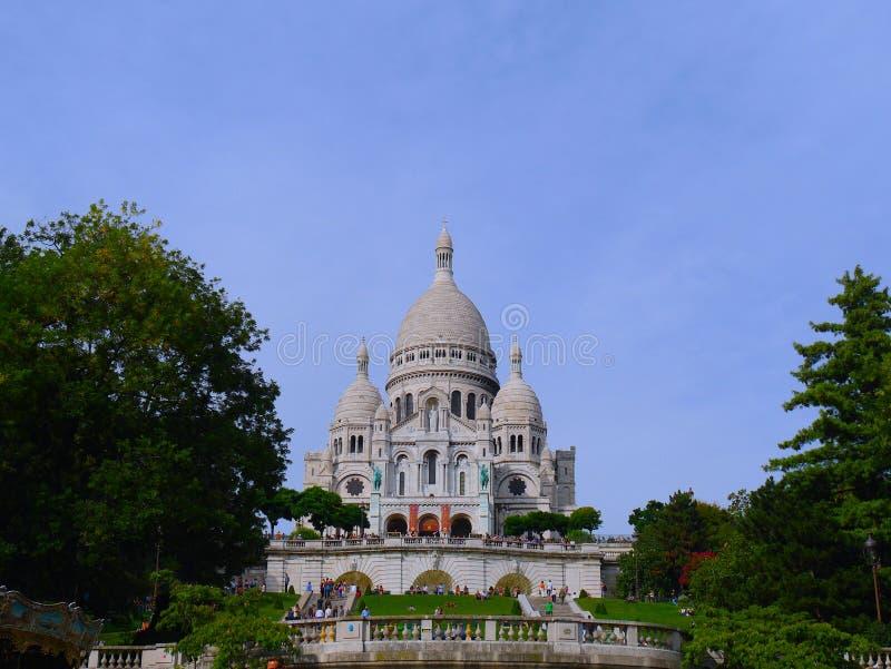 Wspaniały wizerunek Montmartre w Paryż fotografia royalty free