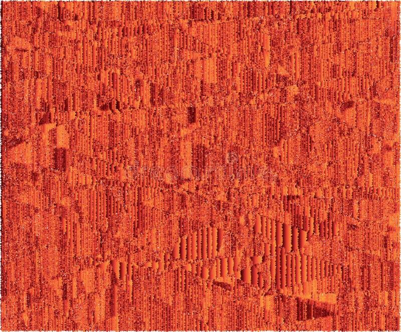 Wspaniali «dywanowi «czerwieni i pomarańcze kolory royalty ilustracja