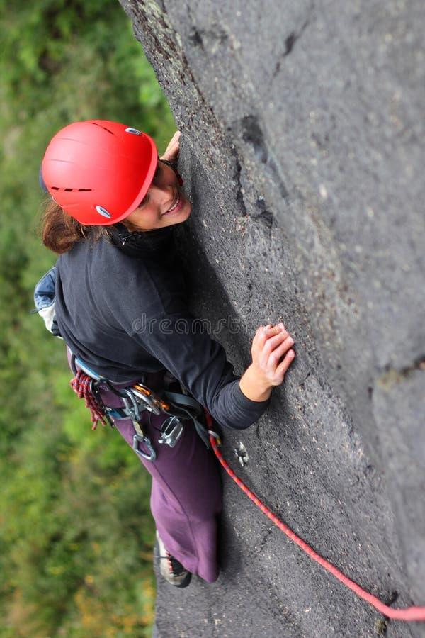 Download Wspinaczkowa skała obraz stock. Obraz złożonej z ekstremum - 16522417