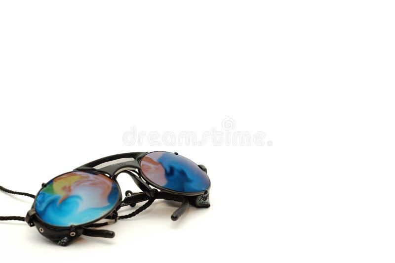 wspinaczkowy okularów wyposażeń słońce obraz royalty free