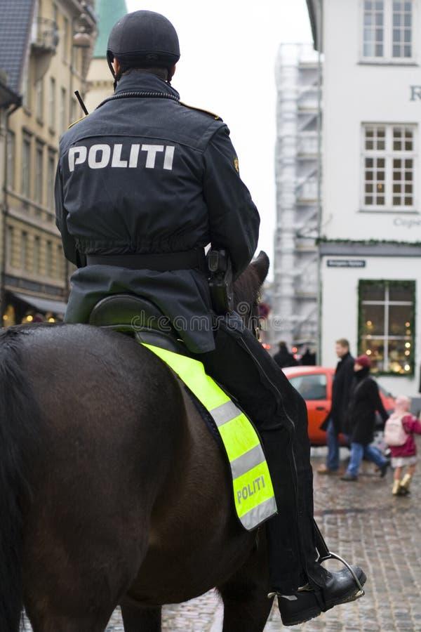 wspinająca się policja fotografia stock