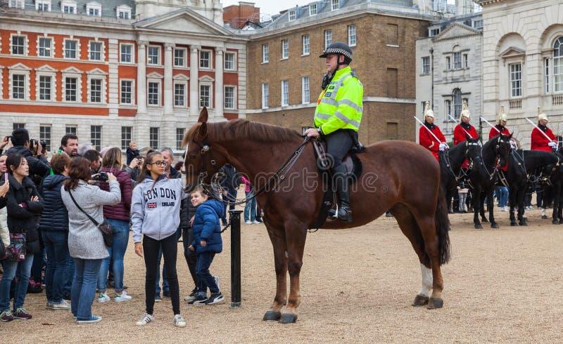 Wspinający się turyści i, Londyn fotografia stock
