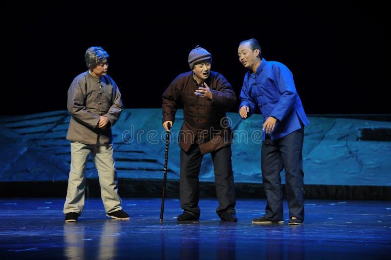 Wspominki tamte rok Jiangxi opera bezmian obraz royalty free