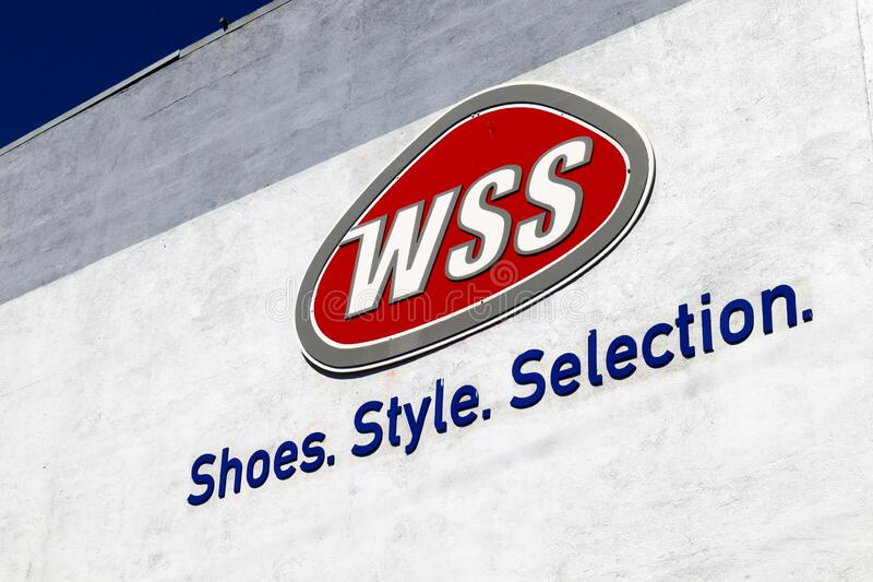 WSS Sign, Warehouse Shoe Sale Is A
