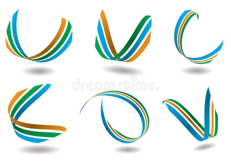 wstążka logo