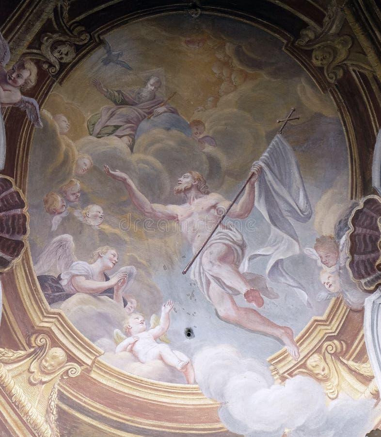 wstąpienie Christ obrazy royalty free
