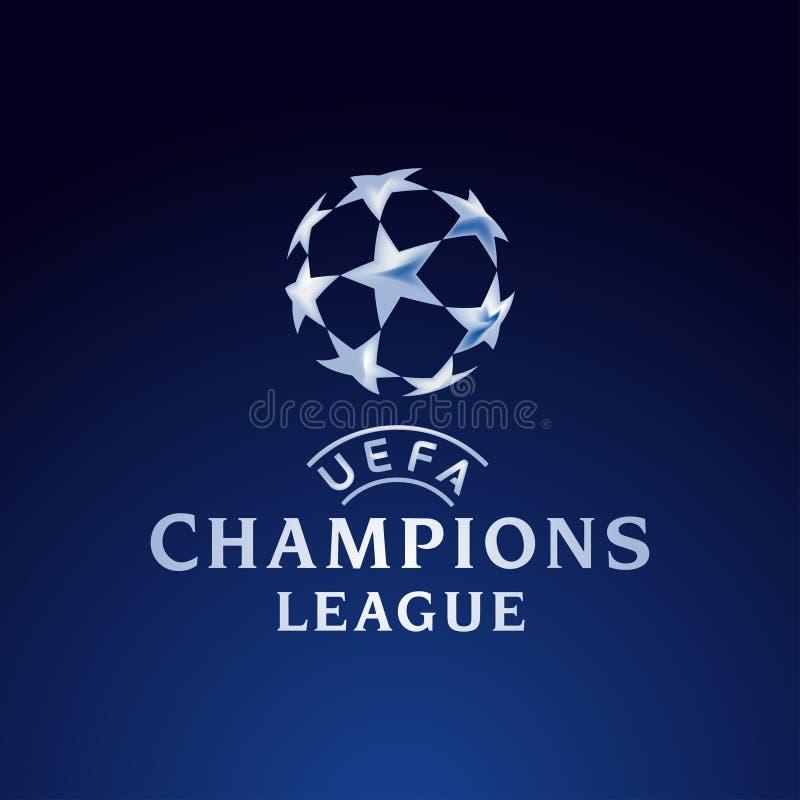 wstawia się ligi Europe logo oficjalną ilustrację ilustracji
