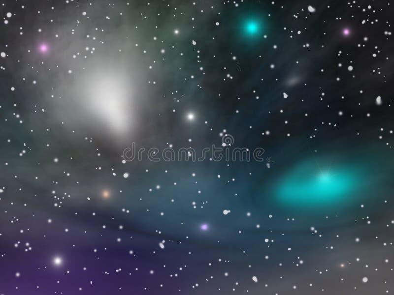 wszechświat royalty ilustracja