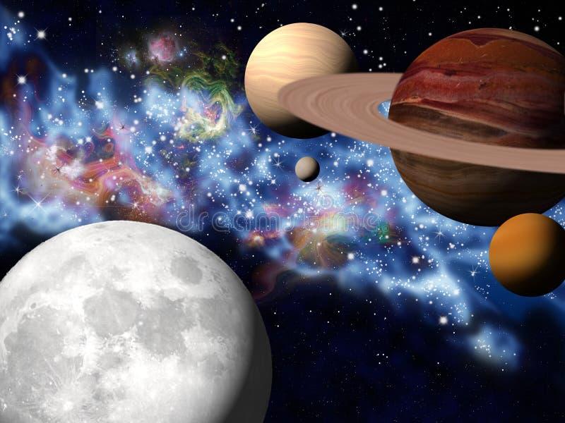 wszechświat ilustracji
