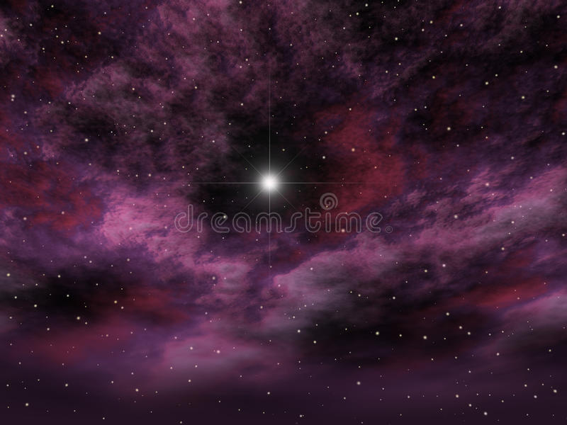 wszechświat ilustracja wektor